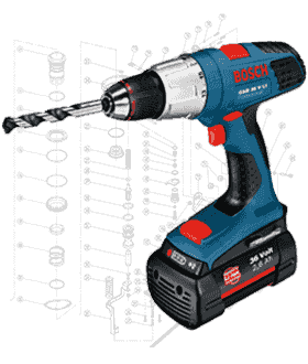 Bosch Drill Repair Parts